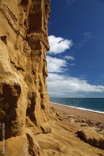 burton bradstock beach Poster
