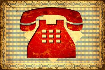Retroplakat - Telefon II