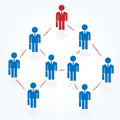businessman network