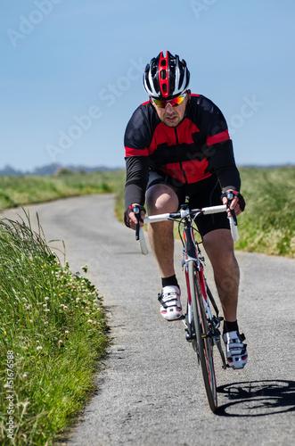 Fotobehang Wielersport Cyclist