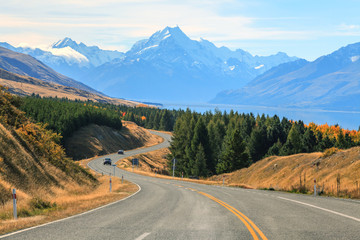 Mountain Cook NewZealand