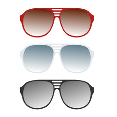 sunglasses vector illustration