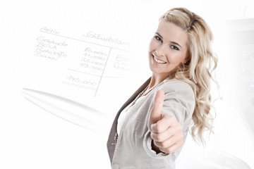 Geschäftsfrau - Buchhalterin - Unternehmerin