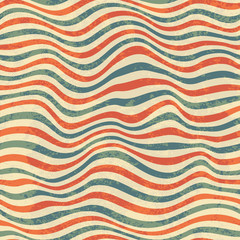 Retro seamless striped pattern