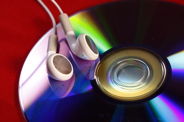 Ear Buds and CD