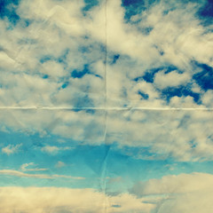 cloud and sky paper