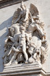 sculpture decoration of Triumphal Arch in Paris