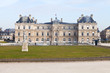 front view of Luxembourg Palace in Paris