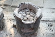 Old clay stove