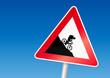 Vorsicht Fahrradfahrer