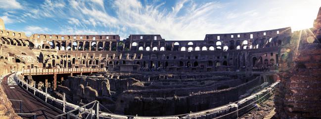 Panorama of Colosseum