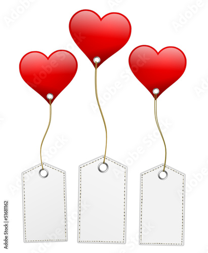 Schilder mit Herz