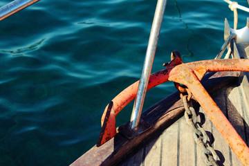 The anchor for ship