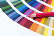 choosing color from the spectrum
