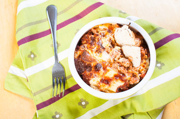 baked macaroni for your kids' meal on their school