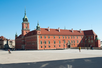 Royal Castle in Old Town Warsaw