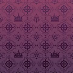 background retro: wallpaper, pattern, seamless, vector.