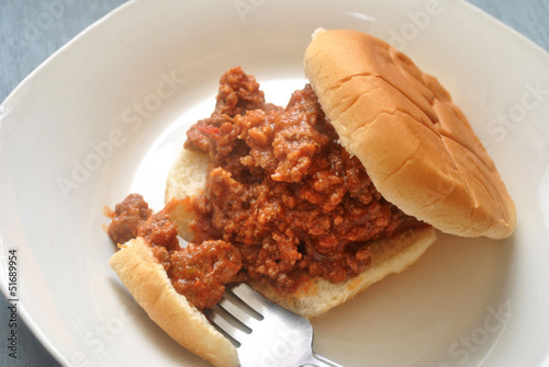 Sloppy Joe for Lunch