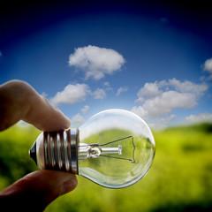 lightbulb outside