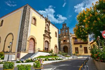 House of Culture  San Agustin in Orotava, Tenerife, Spain.