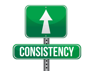 consistency road sign illustration design