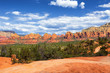 The famous landscape near Sedona