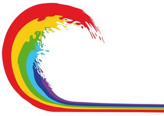 onda di colore