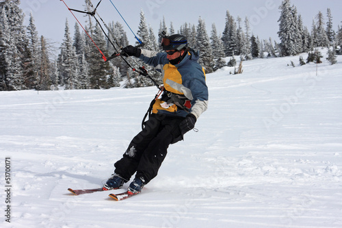 kite skier