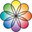 Rainbow Flower (Regenbogenblume)