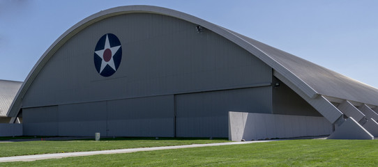 Wright Patterson Airforce Base Hangar