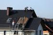 Dach, wymiana dachówki.