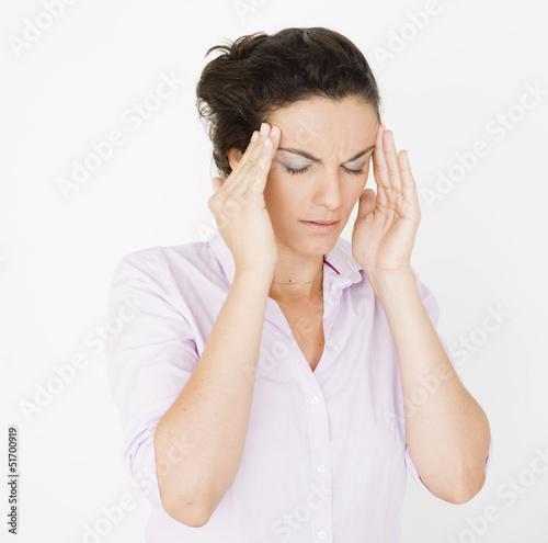 Kopfschmerzen im Büro