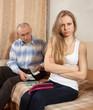 quarrel in  family over money