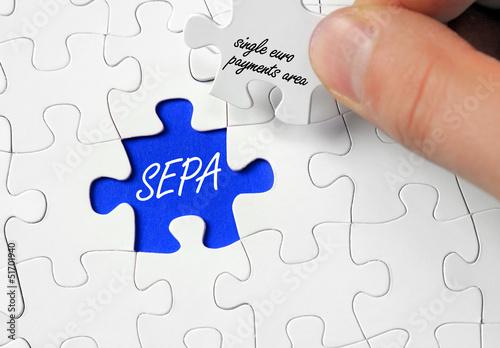 Puzzle mit SEPA