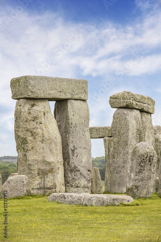 The Stonehenge in England, UK
