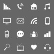 media icons for website