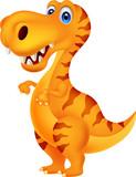 Fototapety Dinosaur cartoon