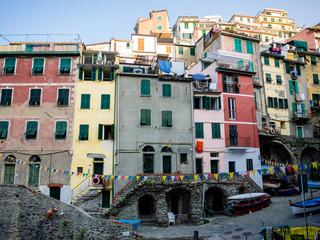 Riomaggiore, antica città di pescatori nel nord Italia