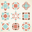 Abstract logo  design elements,