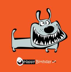 Happy Birthday smile DOG