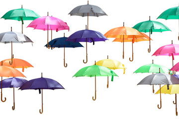 Lot of umbrella