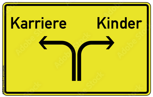Karriere Kinder Schild  #130423-svg02