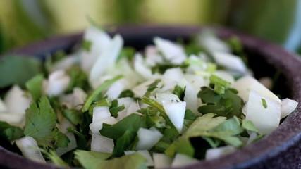 Mexican Cilantro Onions