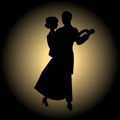 Slow ballroom dance