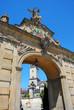 exit gate onJasna Gora monastery in Czestochowa