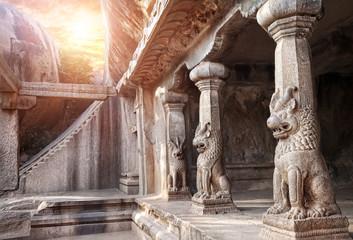 Cave in Mamallapuram