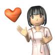 Portrait of a kind nurse