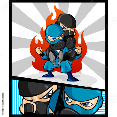 Fighting Ninja