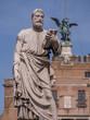 Roma, ponte S. Angelo, statua di San Pietro