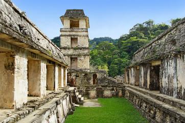 tour de guet de Palenque